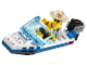 Set No: 30017  Name: Police Boat polybag