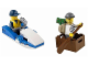 Set No: 30227  Name: Police Watercraft polybag