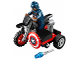 Set No: 30447  Name: Captain America's Motorcycle polybag