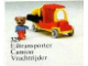Set No: 329  Name: Bernard Bear and Pickup Truck