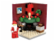 Set No: 3300002  Name: Fire Place Scene (Limited Edition 2011 Holiday Set (2 of 2))