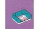 Set No: 3316  Name: Advent Calendar 2012, Friends (Day 14) - Dog Basket with Bone