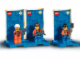 Set No: 3351  Name: Three Minifigure Pack - City #2