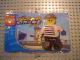 Set No: 3387  Name: Xtreme Stunts Brickster, Chupa Chups Promotional polybag