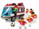 Set No: 3426  Name: Team Transport Bus Adidas Edition