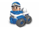 Set No: 3698  Name: Friendly Police Car
