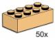 Set No: 3730  Name: 2 x 4 Tan Bricks
