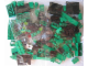 Set No: 3744  Name: Locomotive Green Bricks