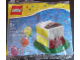 Set No: 40048  Name: Birthday Cake polybag - Green base version