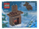 Set No: 4024  Name: Advent Calendar 2003, Creator (Day 19) Fireplace