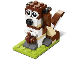 Set No: 40249  Name: Monthly Mini Model Build Set - 2017 11 November, St. Bernard Dog