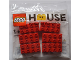 Set No: 40297  Name: LEGO House - 6 Duplo Bricks polybag