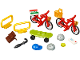 Set No: 40313  Name: Bicycles Accessories polybag (xtra)