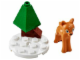Set No: 41040  Name: Advent Calendar 2014, Friends (Day  4) - Deer and Tree