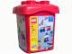 Set No: 4105  Name: 487 Piece Red Bucket