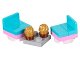 Set No: 41131  Name: Advent Calendar 2016, Friends (Day 13) - Chairs, Table and Cupcakes