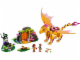 Set No: 41175  Name: Fire Dragon's Lava Cave