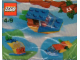 Set No: 4124  Name: Advent Calendar 2001, Creator (Day 11) Speedboat