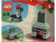 Set No: 4124  Name: Advent Calendar 2001, Creator (Day  3) Fireplace