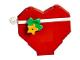 Set No: 41353  Name: Advent Calendar 2018, Friends (Day  1) - Heart Tree Ornament