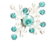 Set No: 41353  Name: Advent Calendar 2018, Friends (Day 20) - Snowflake Tree Ornament