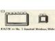 Set No: 414.1W  Name: No. 1 Assorted Windows, White