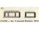 Set No: 414.2W  Name: No. 2 Assorted Windows, White