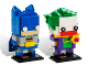 Set No: 41491  Name: BrickHeadz Batman & The Joker - San Diego Comic-Con 2016 Exclusive