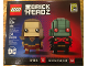 Set No: 41496  Name: BrickHeadz Supergirl & Martian Manhunter - San Diego Comic-Con 2017 Exclusive