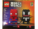 Set No: 41497  Name: BrickHeadz Spider-Man & Venom - San Diego Comic-Con 2017 Exclusive