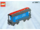 Set No: 4186876  Name: Passenger Wagon Blue (White Box)