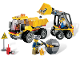 Set No: 4201  Name: Loader and Tipper