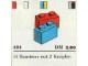 Set No: 421  Name: 1 x 2 Bricks