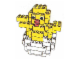 Set No: 4212847  Name: LEGO Stores Easter Chick in egg for 2004