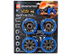 Set No: 4286024  Name: Big Wheels Pack, Dirt Crusher (Blue)
