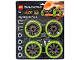 Set No: 4286025  Name: Big Wheels Pack, Dirt Crusher (Lime)