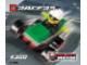Set No: 4300  Name: Green Racer polybag