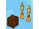 Set No: 4428  Name: Advent Calendar 2012, City (Day 14) Box with Burning Logs