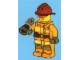 Set No: 4428  Name: Advent Calendar 2012, City (Day  1) Fireman with Loudhailer / Megaphone