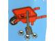 Set No: 4428  Name: Advent Calendar 2012, City (Day 20) Wheelbarrow with Spade and Snow