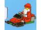 Set No: 4428  Name: Advent Calendar 2012, City (Day 24) Santa on Snowmobile