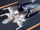 Set No: 4484  Name: X-wing Fighter & TIE Advanced - Mini