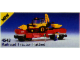 Set No: 4543  Name: Railroad Tractor Flatbed
