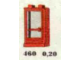 Set No: 460  Name: 1 x 2 x 3 Door, Red or White