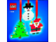 Set No: 4759  Name: Three Christmas Decorations - Santa, Tree and Snowman