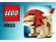 Set No: 4903  Name: Lion polybag