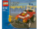 Set No: 4914  Name: Fire Chief's Car polybag