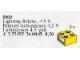 Set No: 5003  Name: Light Bricks, 4.5V