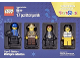 Set No: 5004424  Name: Minifigure Collection, Cops and Robbers (TRU Exclusive)