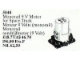Set No: 5040  Name: Monorail 9V Motor